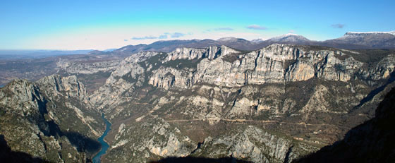 Photo: The Verdon gorge